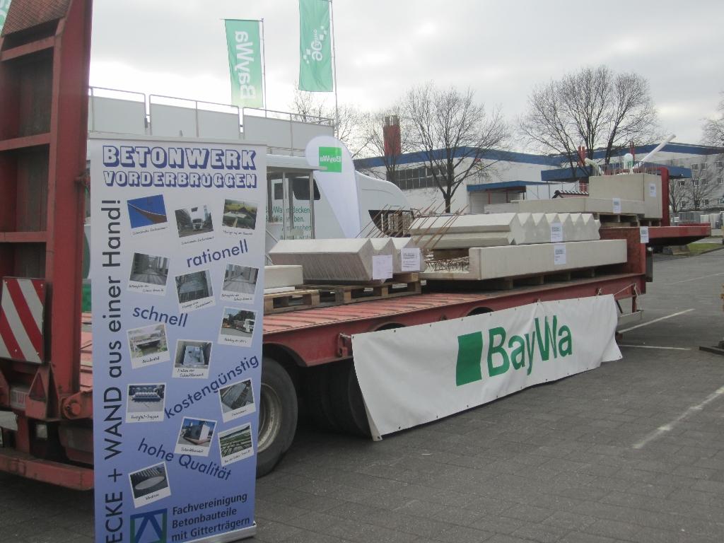 Hervorragend Hausmesse BayWa Coesfeld - Referenz Projekt - Betonwerk Vorderbrüggen YP68