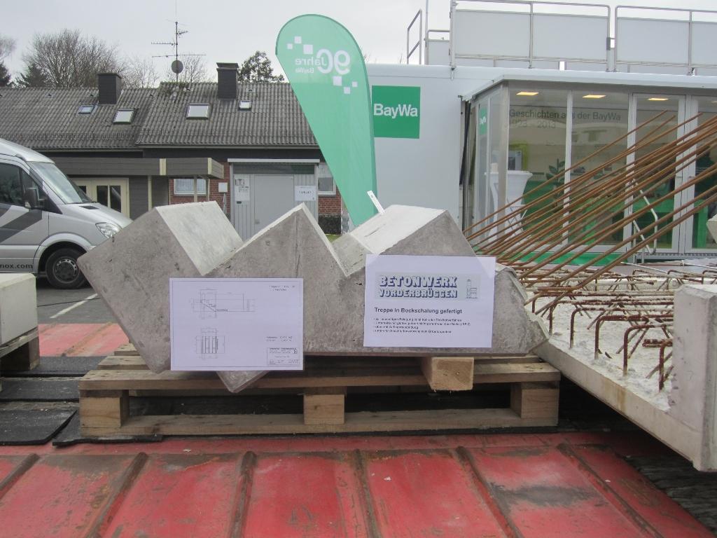 Gut gemocht Hausmesse BayWa Coesfeld - Referenz Projekt - Betonwerk Vorderbrüggen DY88