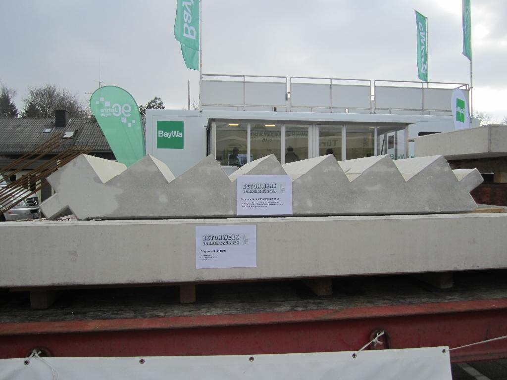 Favorit Hausmesse BayWa Coesfeld - Referenz Projekt - Betonwerk Vorderbrüggen TL66