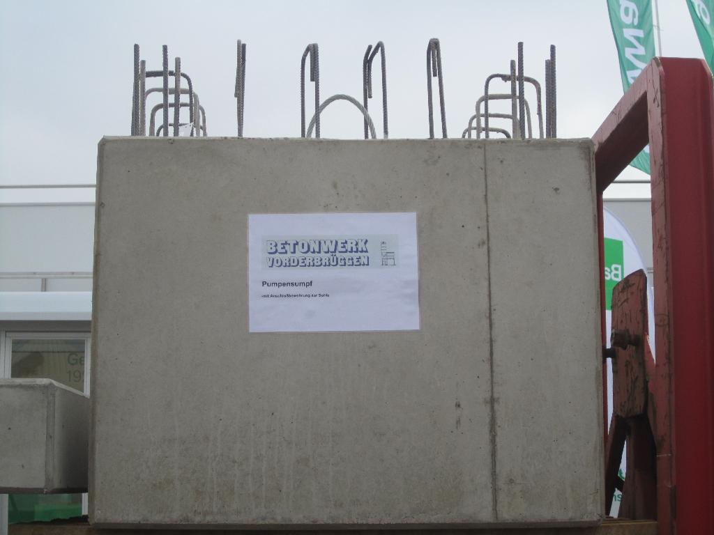 Berühmt Hausmesse BayWa Coesfeld - Referenz Projekt - Betonwerk Vorderbrüggen IL06