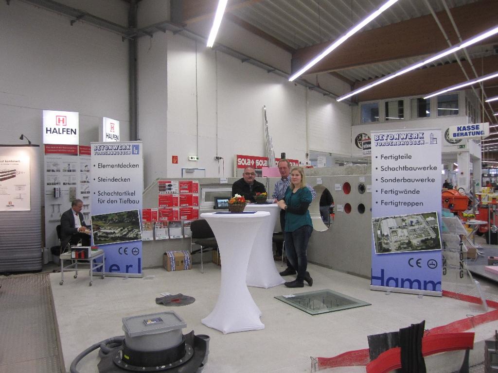 Hervorragend Hausmesse BayWa Coesfeld - Referenz Projekt - Betonwerk Vorderbrüggen OK71
